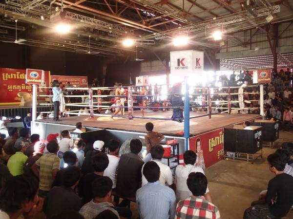 Kickboxing i Phnom Penh