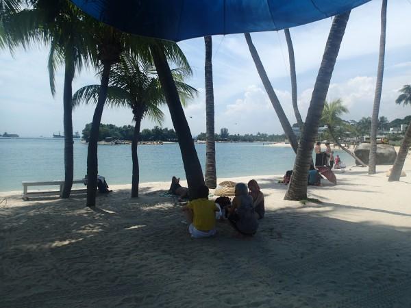 Sentosa strand singapore