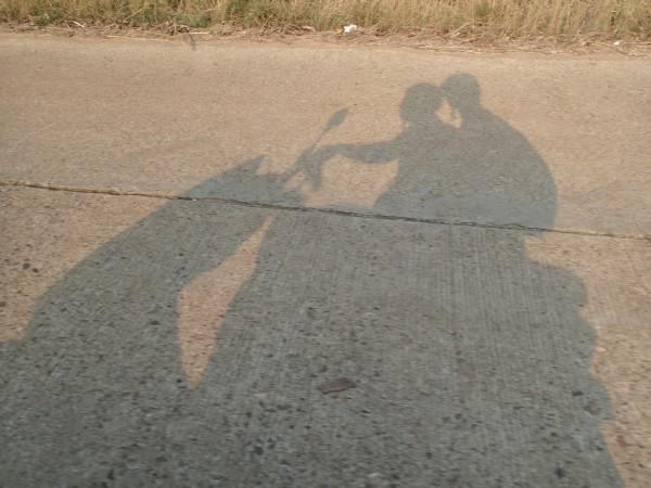 Skygge scooter billede