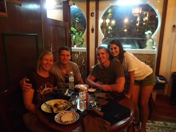 middag med Haakon og Jackie