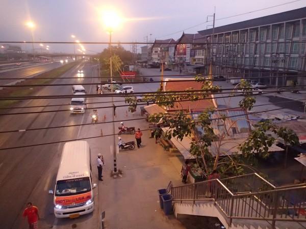 motorvejen ved Ayuttha