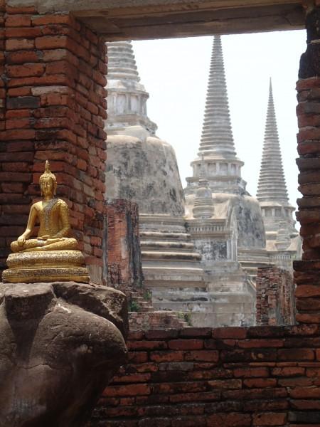 Lille buddah og templer