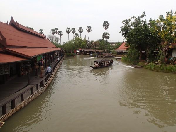 Floating Marked Ayuttya