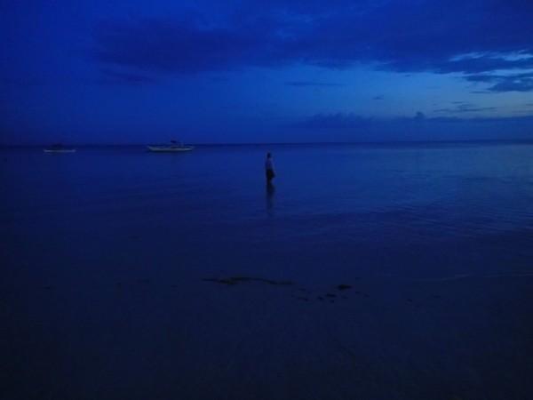 Solnedgang ved Bantayan