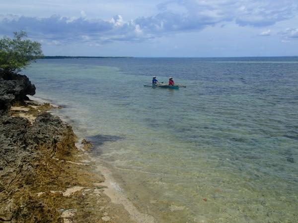 Fiskebåd ved Bantayan