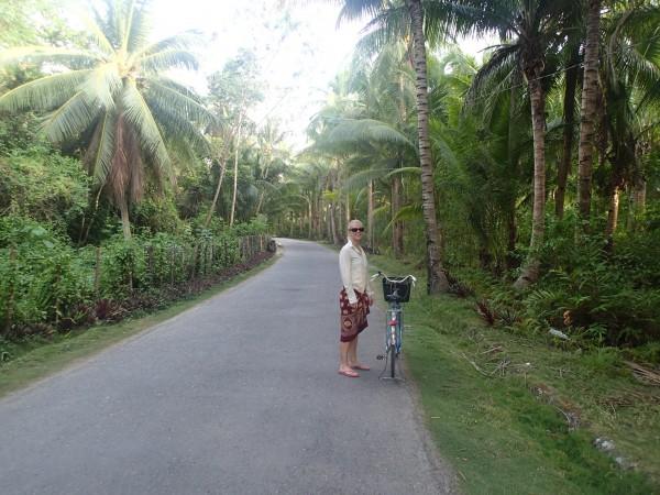 En hot blond tøs på Bantayan Island