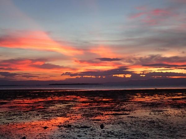 Solnedgang på Bohol