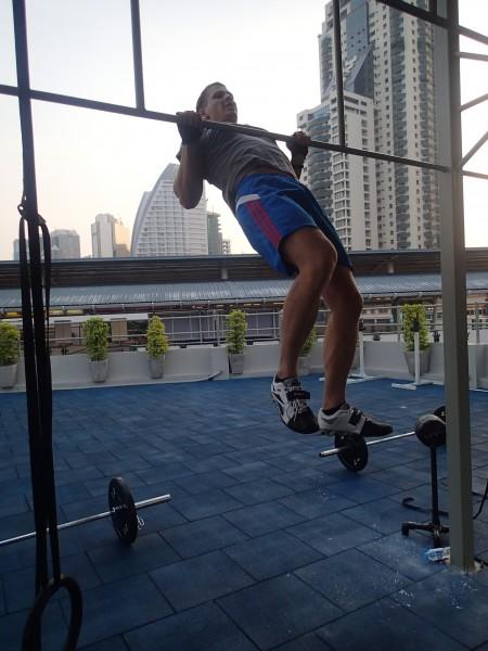 Crossfit WOD i Bangkok