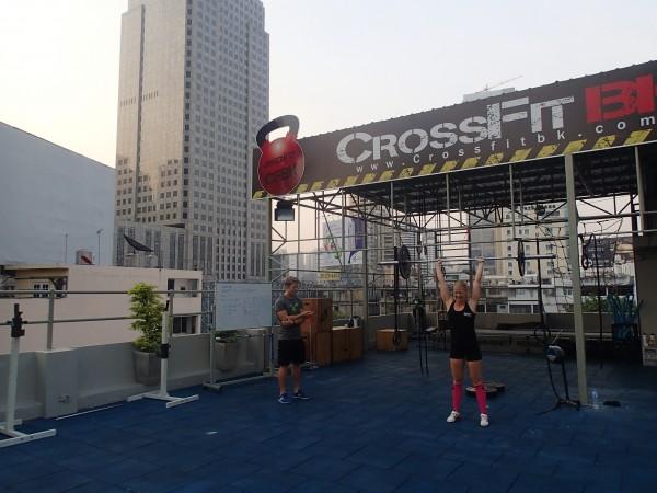 Crossfit træning i Bangkok
