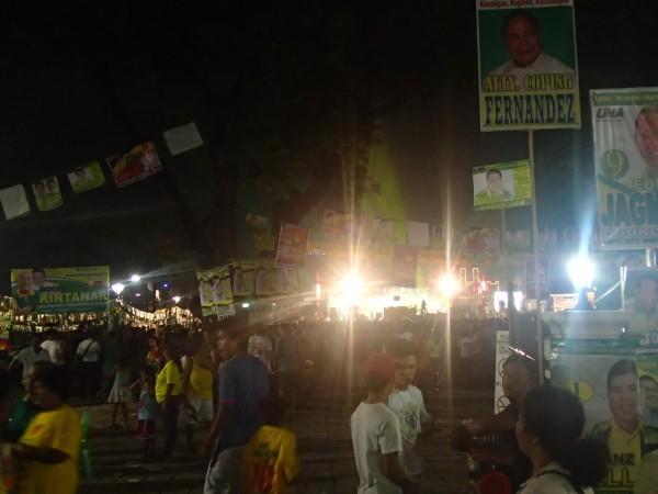 Valgkampagne i Cebu