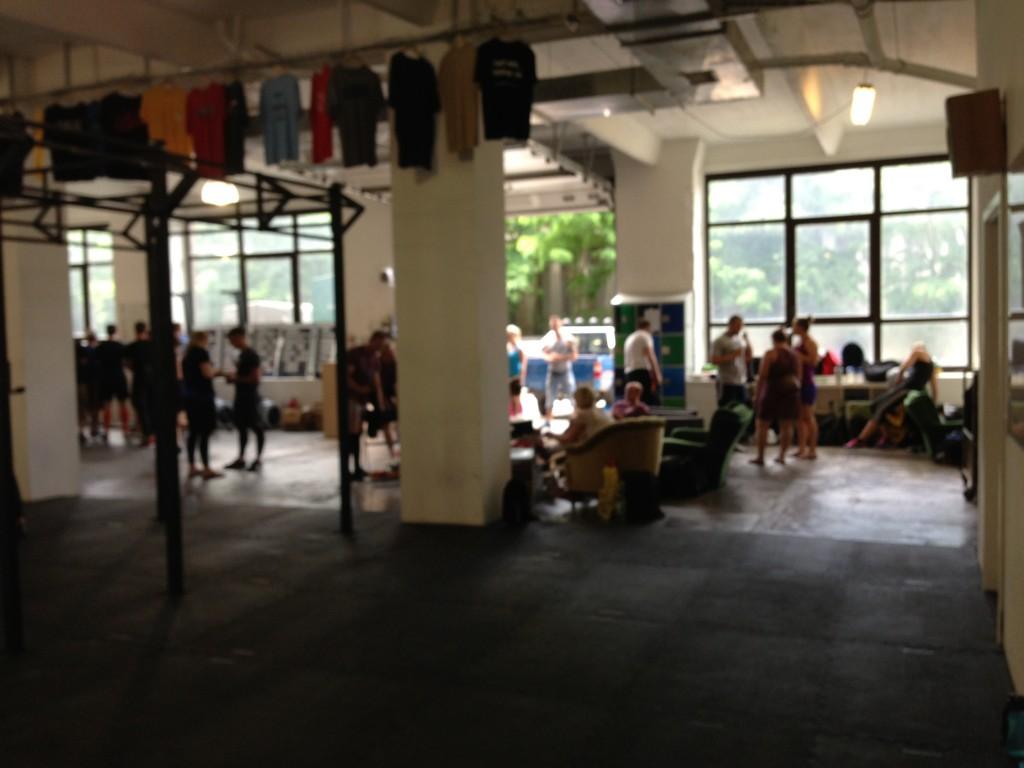 CrossFit Werk hyggeområde